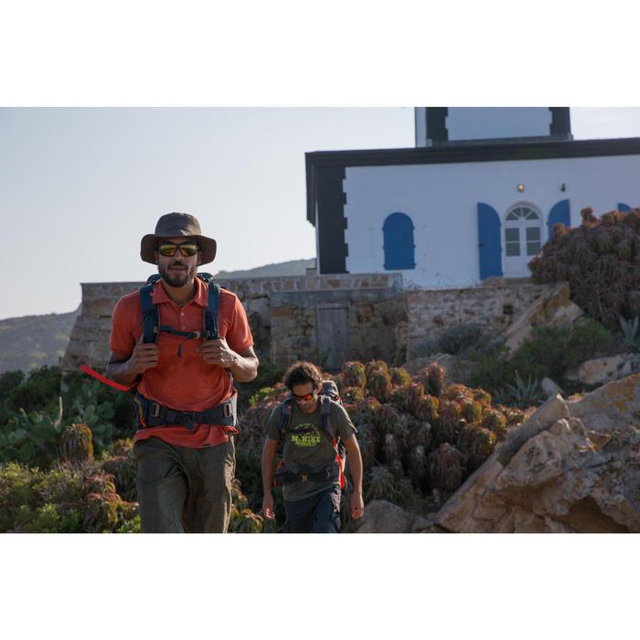 Lunettes de randonnée adulte HIKING 300 marron écailles polarisantes catégorie 3