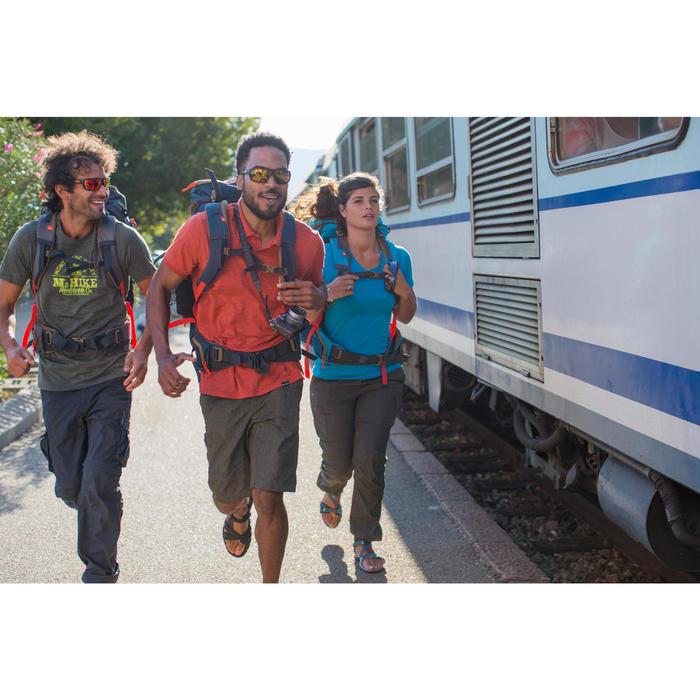 Zonnebril Hiking 300 bruin polariserend categorie 3