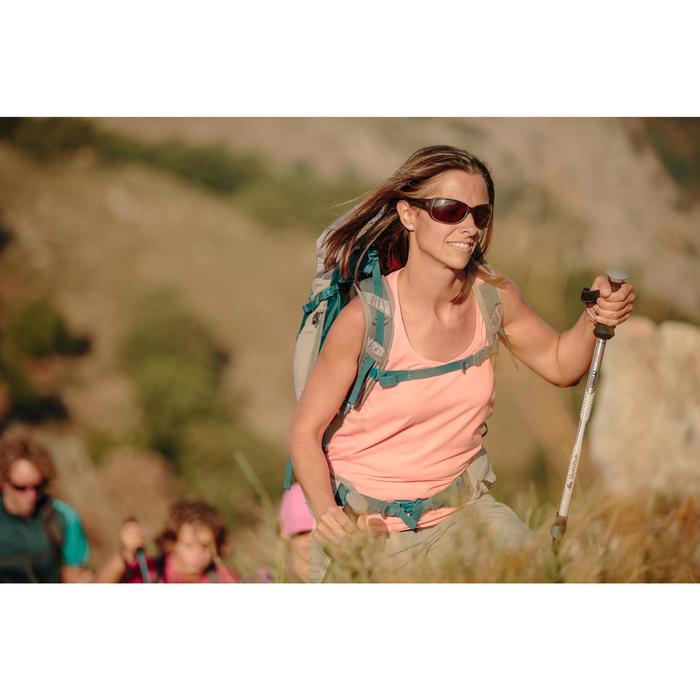 Lunettes de soleil de randonnée femme MH550W marron écailles catégorie 3