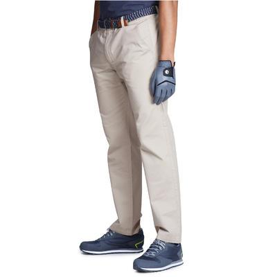 Men's Golf Trousers 100 - Beige