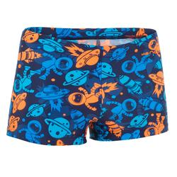B-Active Boys' Boxer Swim Shorts - Allastro Orange