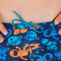B-Active Boys' Boxer Swim Shorts - Allastro Orange