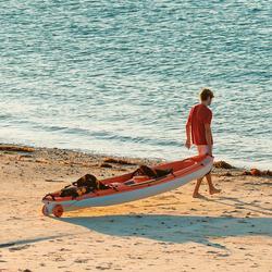 Kayak Canoa Rígido Bic BORNEO Con Respaldo 2 Plazas Adulto Y 1 Plaza Niño