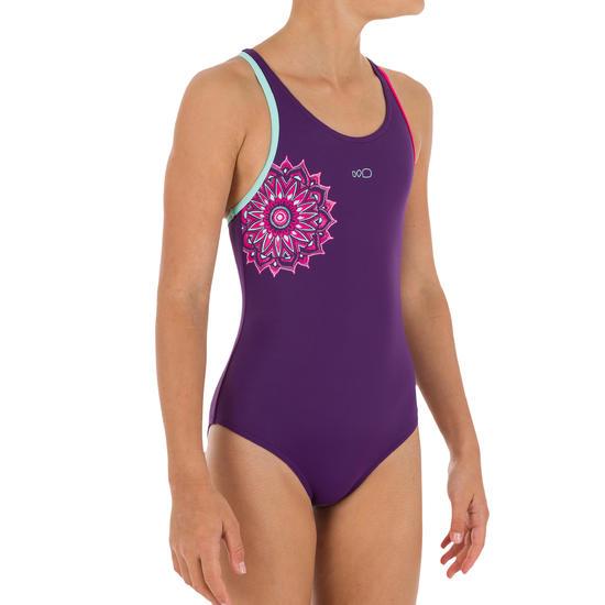 Meisjesbadpak Leony+ voor zwemmen - 1120921