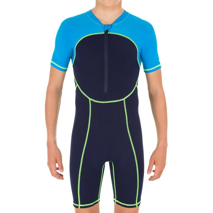 Badeanzug Shorty Swim Jungen blau