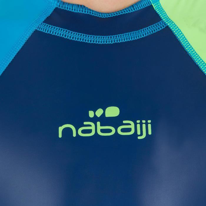 Bañador Neopreno Shorty Natación Kloupi Nabaiji Niño Azul Verde