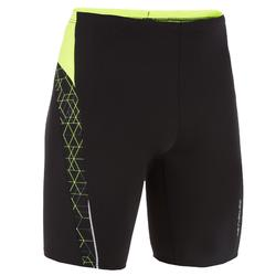 YELLOW BLACK BOY'S HEXA FIRST 500 SWIMMING JAMMER