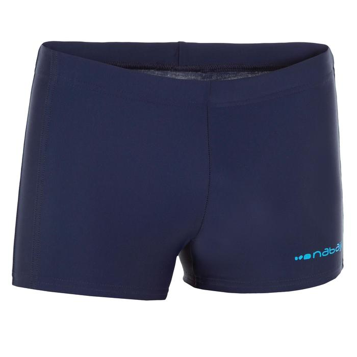 Badehose Boxer 100 Plus Pip Jungen blau