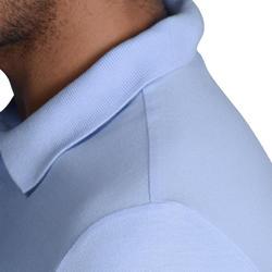 Polo de golf homme manches courtes 100temps tempéré bleu ciel