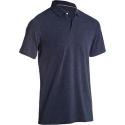 500 男士高爾夫球短袖POLO衫-白色