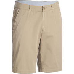 MEN'S BERMUDA GOLF SHORTS BEIGE