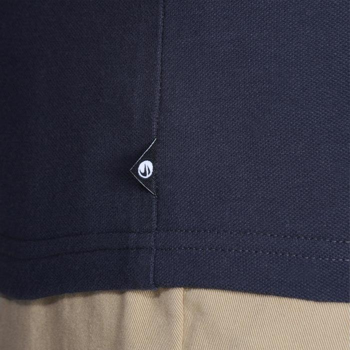 Golf Poloshirt 100 Kurzarm Herren mildwarm grau