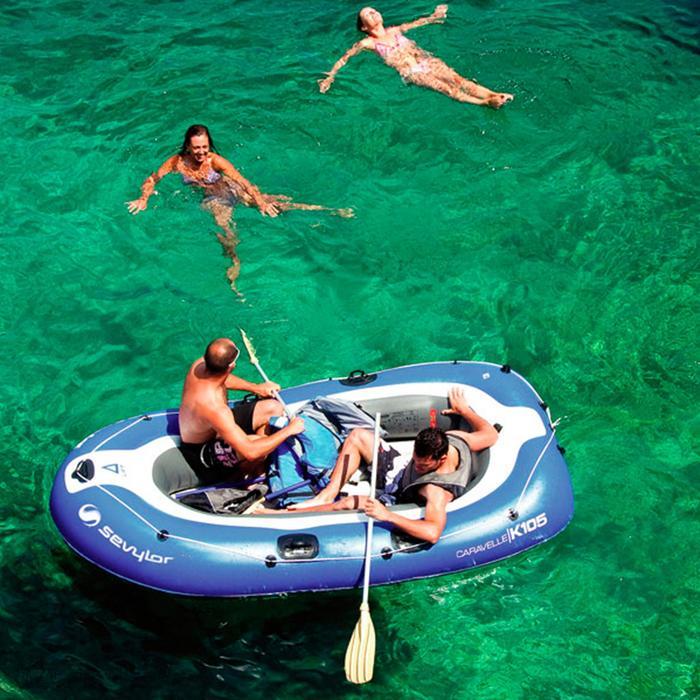 Paire de rames  pour bateau gonflable aluminium 150cm - 112118