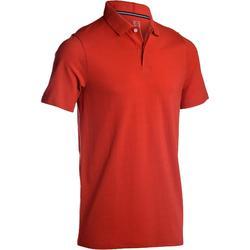 Golf Poloshirt 500 Herren rot