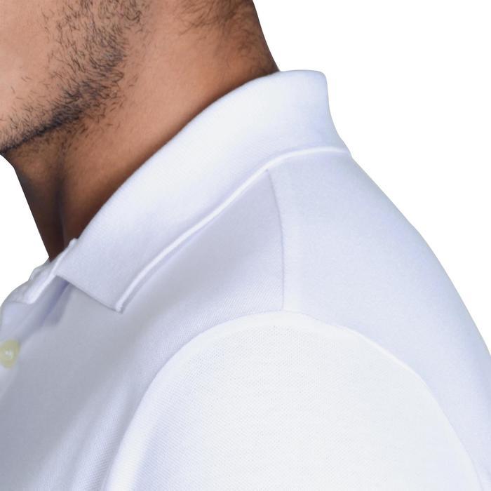 Golf Poloshirt 500 Kurzarm Herren mildwarm weiß