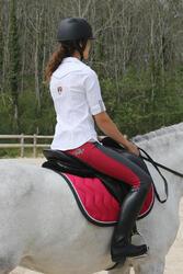 Leren rijlaarzen Riding voor volwassenen - 112140