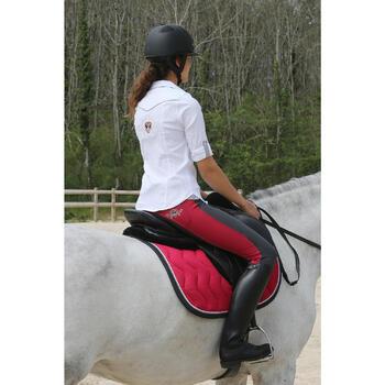 Bottes en cuir équitation adulte RIDING - 112140