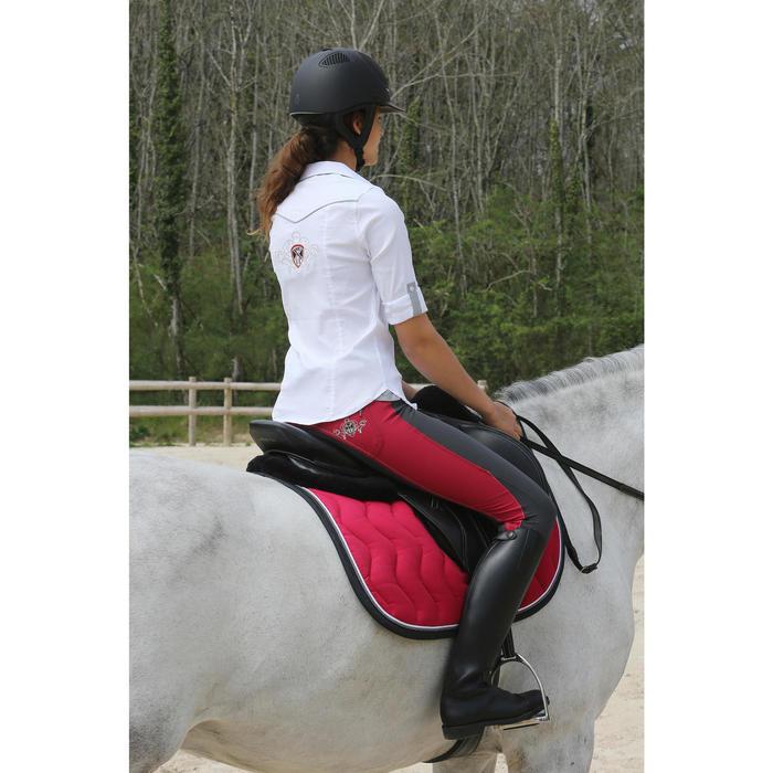 Reitstiefel Riding Leder schwarz