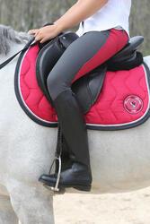 Leren rijlaarzen Riding voor volwassenen - 112142