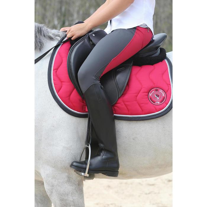 Bottes en cuir équitation adulte RIDING - 112142
