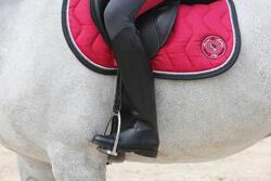 Leren rijlaarzen Riding voor volwassenen - 112143