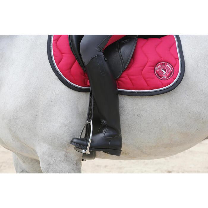 Bottes en cuir équitation adulte RIDING - 112143