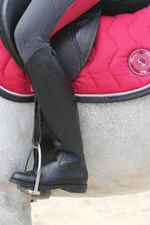 Leren rijlaarzen Riding voor volwassenen - 112144