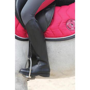Bottes en cuir équitation adulte RIDING - 112144