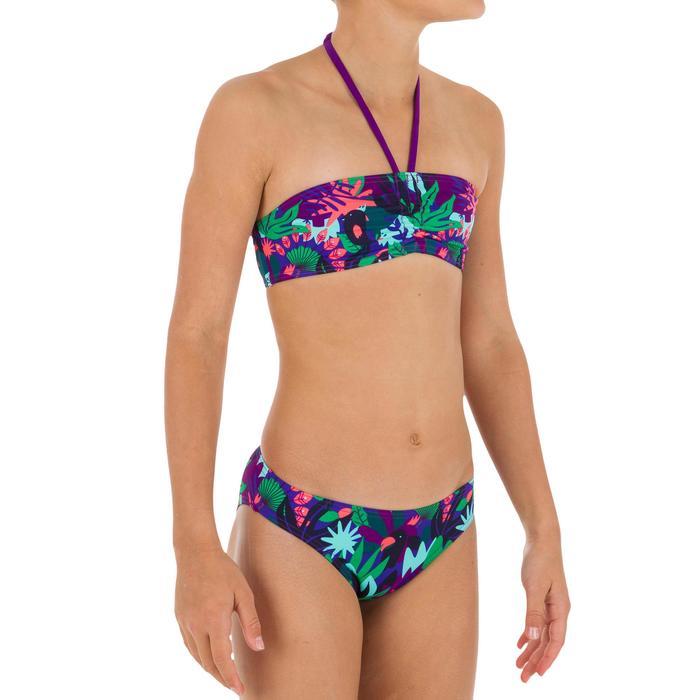 Bikini-Set Bandeau Jungle Mädchen