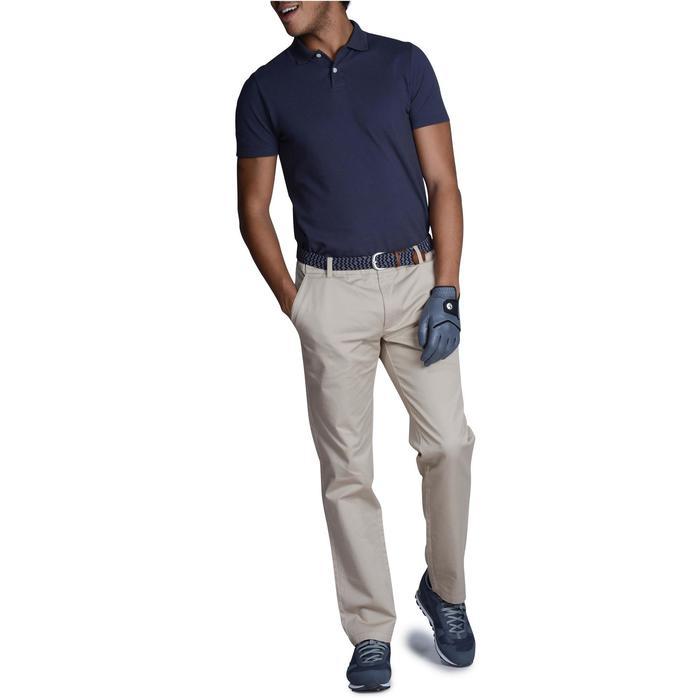 Golfbroek 100 voor heren beige