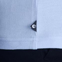 bdecc0154 تي شيرت بولو رجالي للجولف 100 – لون أزرق سماوي