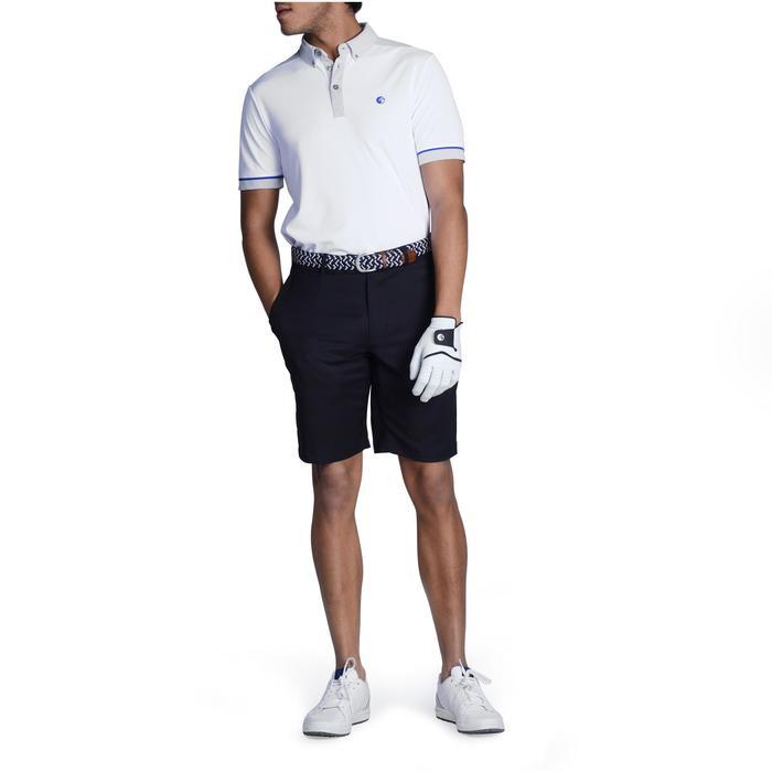 Golf Poloshirt 900 Herren weiß/grau