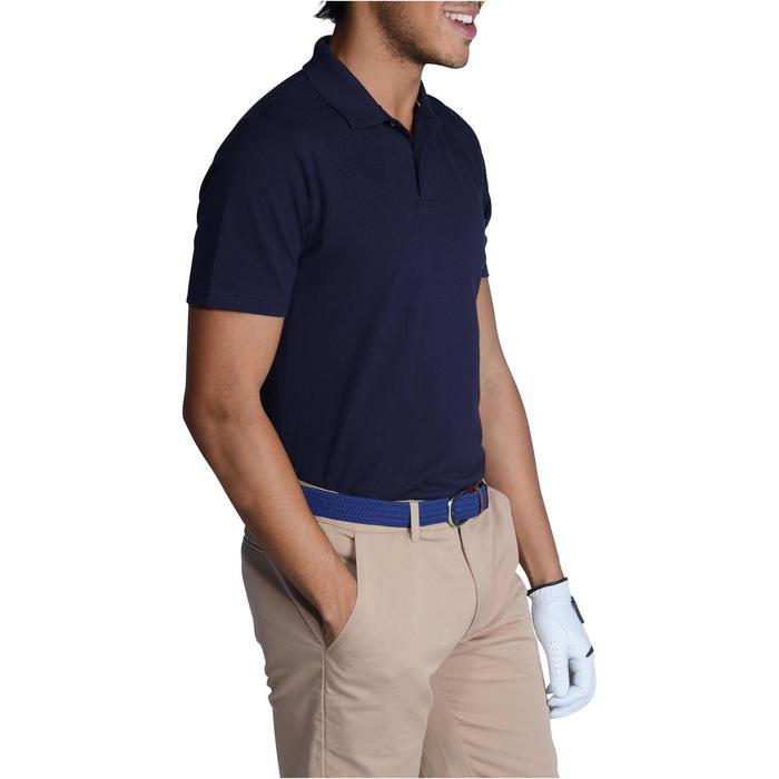 Golf Poloshirt 500 Kurzarm Herren mildwarm marineblau