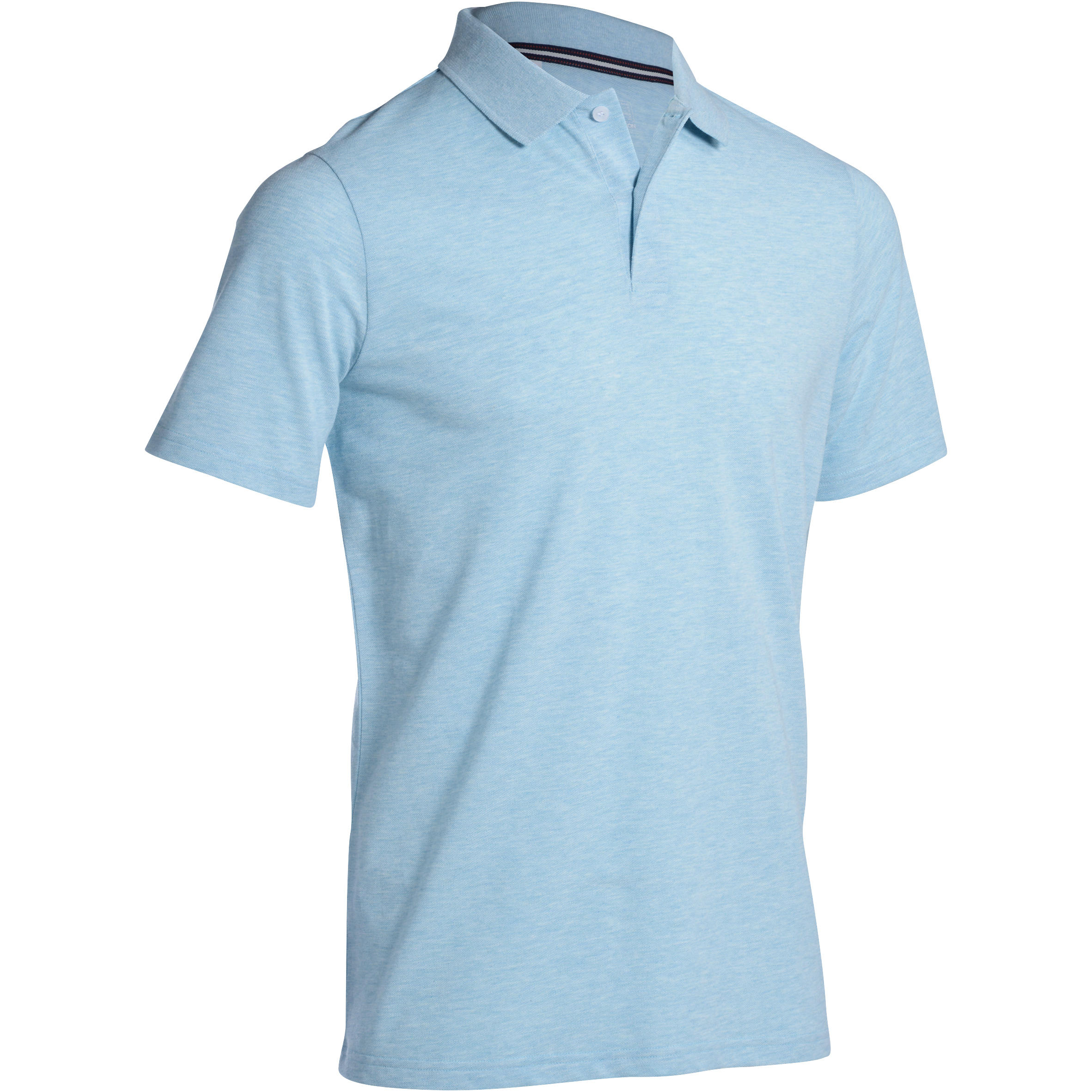 POLO GOLF HOMME 500 MENTHE chiné