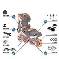 Sneak-In Adult Urban Mobility Inline Skates - Orange/Black