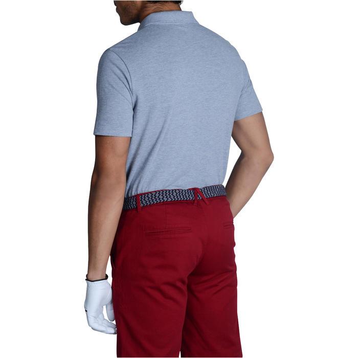 Áo thun polo nam ngắn tay chơi golf trong thời tiết ôn hòa 500 - Xám thạch nam