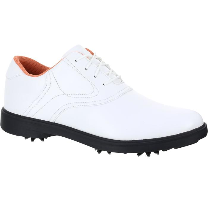 CHAUSSURES GOLF FEMME SPIKE 500 BLANCHES - 1121683