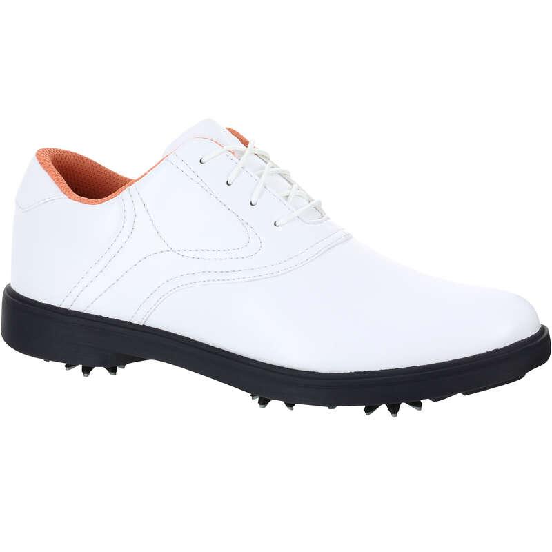 DÁMSKÁ GOLFOVÁ OBUV DO MOKRÉHO TERÉNU Golf - DÁMSKÁ GOLFOVÁ OBUV SPIKE 500  INESIS - Golfová obuv
