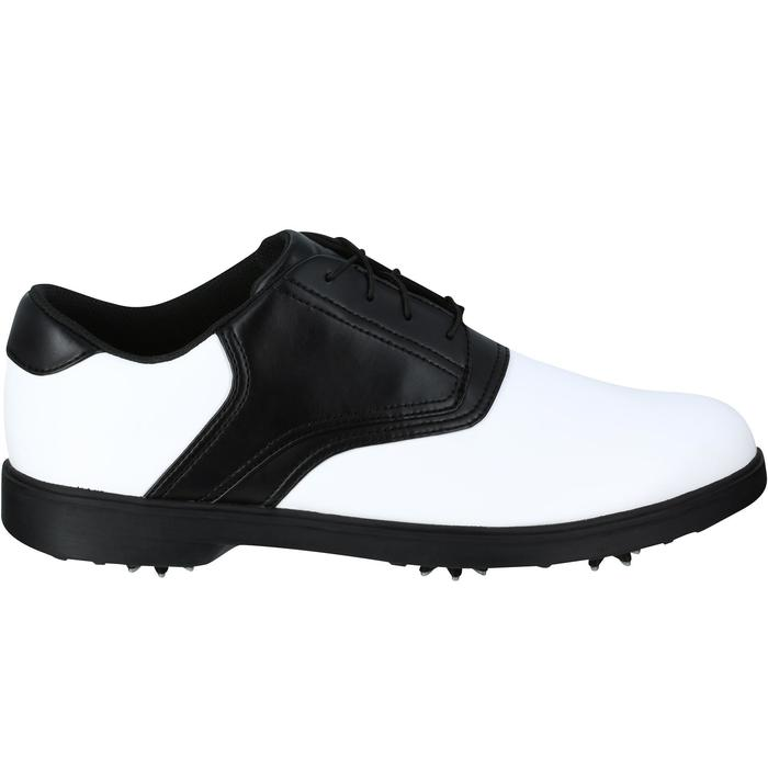 CHAUSSURES GOLF HOMME SPIKE 500 BLANCHES / NOIRES - 1121687