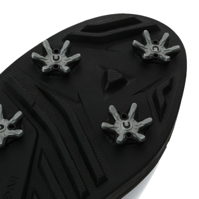 Golfschoenen Spike 500 voor heren wit/zwart