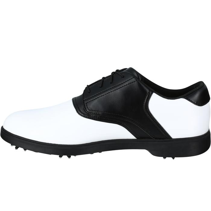 CHAUSSURES GOLF HOMME SPIKE 500 BLANCHES / NOIRES - 1121715