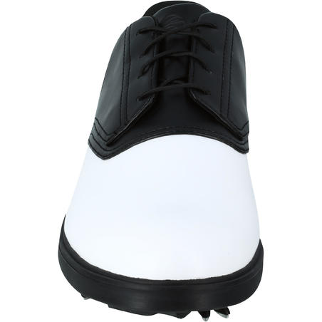 Men's Spike 500 Golf Shoes - White / Black