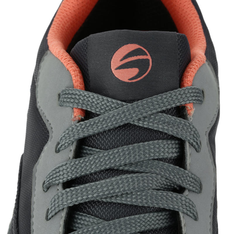 ZAPATILLAS DE GOLF MUJER IMPERMEABLES SPIKELESS 500 GRISES