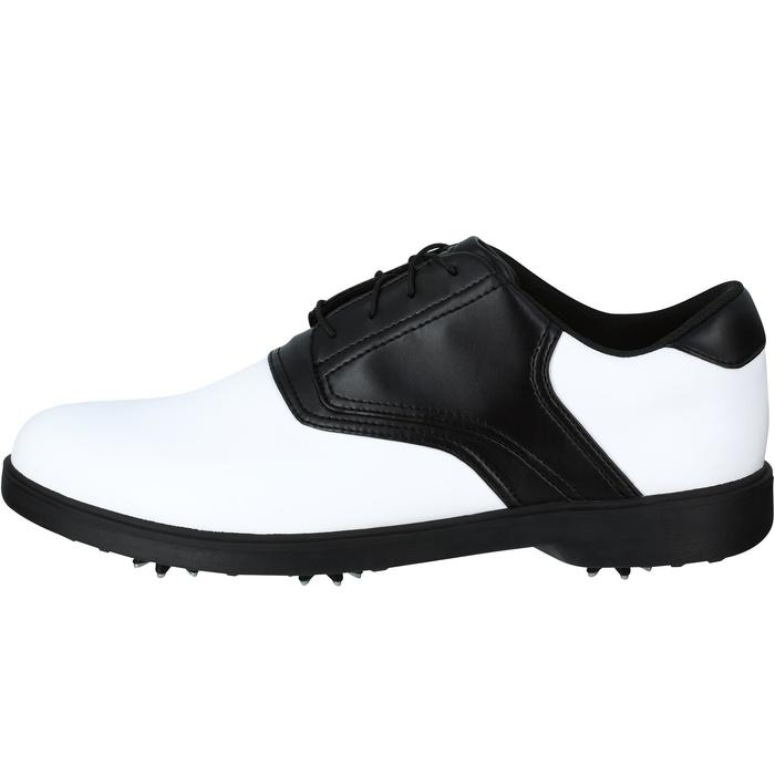 CHAUSSURES GOLF HOMME SPIKE 500 BLANCHES / NOIRES - 1121731
