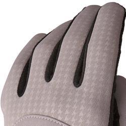Golfhandschuhe 900 Winter Damen 1 Paar grau