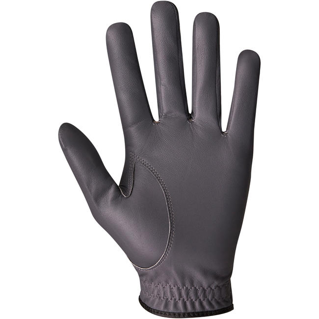 Men Golf Glove 500 Right-Handed Grey