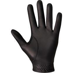 男款進階及專業級高爾夫球手套500-右手持桿-黑色
