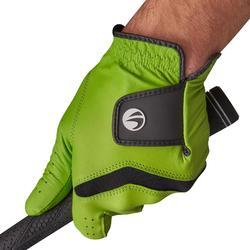 Golfhandschoen 500 voor heren, gevorderde en ervaren spelers, rechtshandig groen