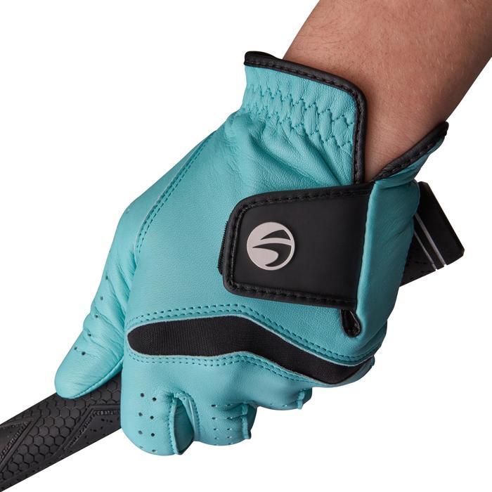 Golfhandschoen 500 voor dames, gevorderde en ervaren speelsters, rechtsh. blauw