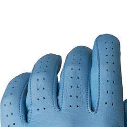 Guante de golf hombre 500 avanzado y experto diestro azul